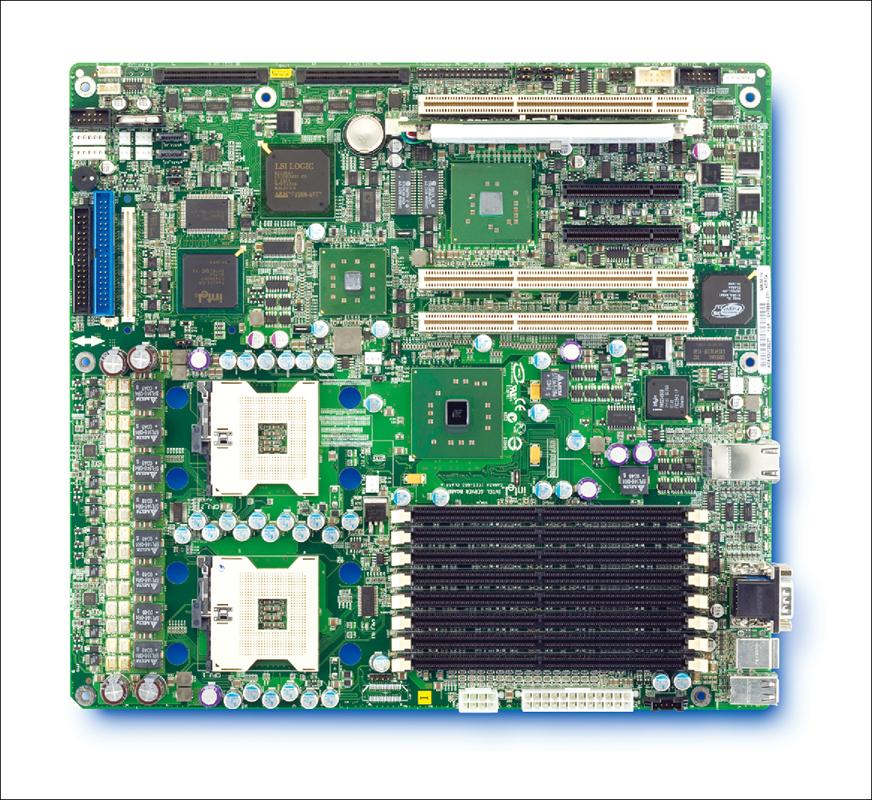 Intel Alief SE7520AF2: iE7520, 2xS604, DDR2, video, RAID SATA, u320, 2xGLAN
