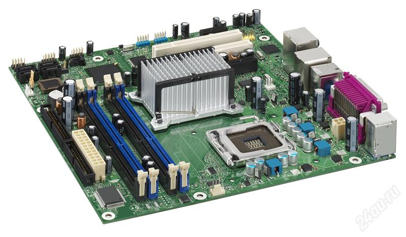 Intel Tappen D945GTPL: i945g, DDR2, RAID, D-sub, LAN, µATX, oem